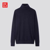 UNIQLO 优衣库 419202  男士纯羊绒高领毛衣