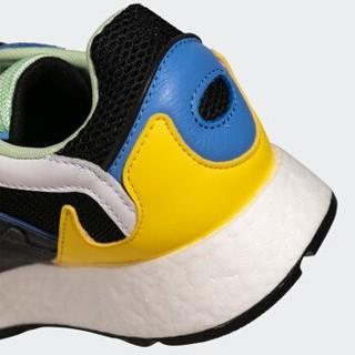 adidas Originals 中性休闲运动鞋 FV4710  一号黑/固态灰/黄 41