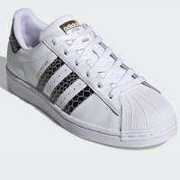 adidas 阿迪达斯 SUPERSTAR FV3294 蛇纹款 女款休闲运动鞋