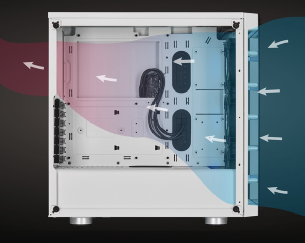 小编精选、评论有奖:兼顾颜值与实力丨海盗船 iCUE 465X RGB 机箱
