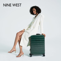 Nine West玖熙简约铝框拉杆箱女万向轮旅行24寸TSA锁学生正品包邮