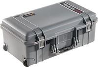 Pelican Air 1535 Case 对开式 黑色015350-0011-180 No Foam 银色