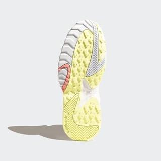 adidas Originals STREETBALL W 女士休闲运动鞋 EH2178  亮白/一度灰/丁蓝 40