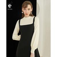 范思蓝恩 Z95261 假两件针织连衣裙