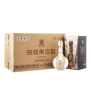 四特 白酒 东方韵 弘韵 特香型 42度 500ml*6 整箱装(新老包装随机发货)