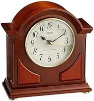 Seiko Mantel 铃木时钟棕色木质手机壳