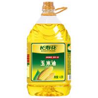 长寿花玉米油 4L热销31万桶非转基因压榨一级