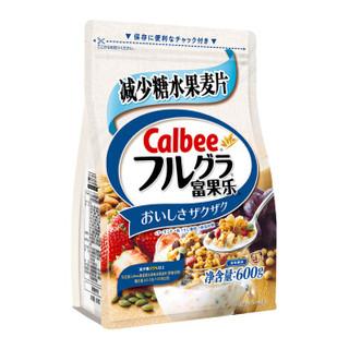 移动端 : Calbee 卡乐比 糖质OFF营养早餐燕麦片 600g *3件