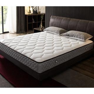 1日0点 : QuanU 全友 105111 天然乳胶+硬椰丝热熔棉床垫 150*200cm