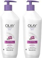 OLAY 玉兰油 身体乳液泵 11.8液体盎司 性感兰花 11.8 Fl Oz