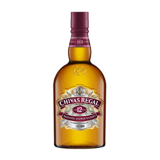 CHIVAS REGAL 芝华士 12年苏格兰调和威士忌 750ml