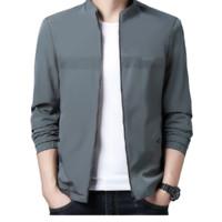 恒源祥 男士纯色立领夹克外套20HYX-F0838 浅绿色180