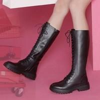 Teenmix 天美意 T38GX005RU1DG9 女士高筒靴