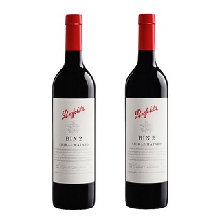 奔富 BIN2 西拉干红葡萄酒 750ml*2瓶