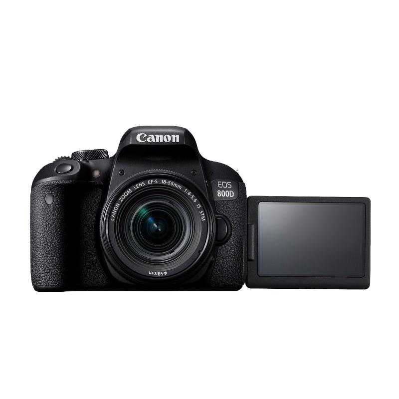 双十一预售:【直营】Canon/佳能800D套机18-55入门级EOS单反相机