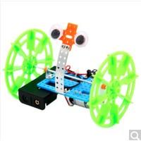 乐加酷  科学小制作 两轮平衡车机器人