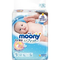 京东PLUS会员 : moony 尤妮佳 婴儿纸尿裤 S84片 *8件