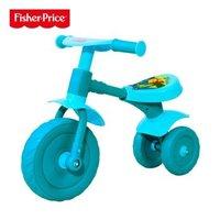费雪学步车滑行车可坐可骑玩具车宝宝平衡车助步滑行车 蓝色