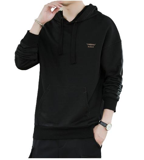 Nan ji ren 南极人 男士连帽套头长袖卫衣SY-SY221 黑色M