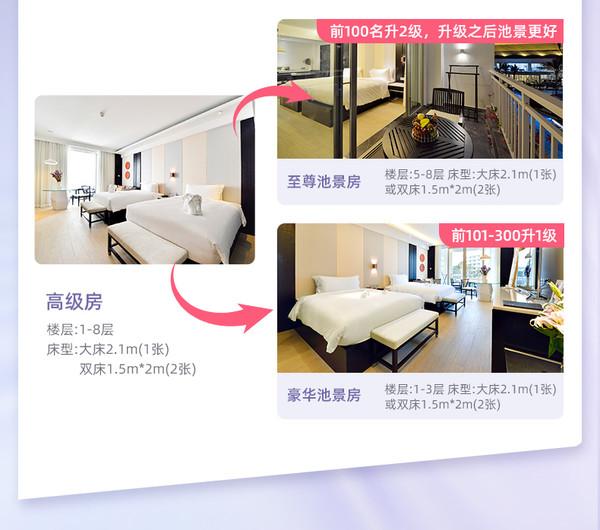 有效期到21年7月!三亚亚龙湾迎宾馆 80平米套房/230平米别墅2-3晚