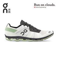 On昂跑2020年秋季新品新一代轻量减震网面竞速型男款跑鞋 Cloudflash Wihte/Black 白/黑 41 US(M8)