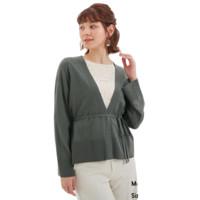 27日0点:GU 极优 324794 女装防紫外线带腰带针织开衫