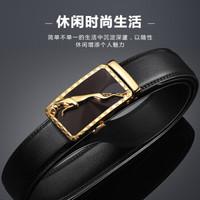 POACY  男士皮带自动扣  P803金色 尺寸请备注,否则随机发货