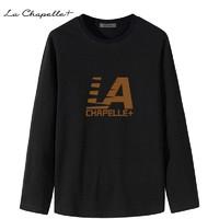 暖爱季、百亿补贴:La Chapelle 拉夏贝尔 男士长袖秋衣T恤
