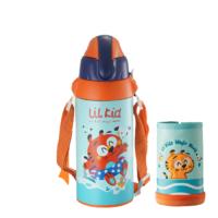 RELEA 物生物 儿童不锈钢保温杯 580ml