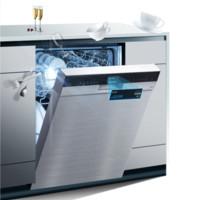 SIEMENS 西门子 臻净系列 SJ456S36JC 全自动嵌入式洗碗机 12套 不锈钢色