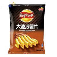 Lay's 乐事 大波浪马铃薯片 碳烤五花肉味 145g
