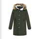 gxgjeans 174907003 男装保暖军绿外套 169.9元