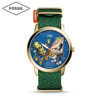 FOSSIL  MONEY GANG系列 LE1103 情侣款石英腕表