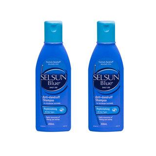 Selsun 蓝瓶 特效去屑止痒洗发水 200ml*2瓶