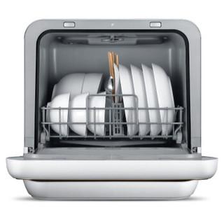 Midea 美的 M1 家用全自动台式迷你小型洗碗机 4套