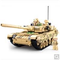 Sluban 快乐小鲁班 99A主战坦克