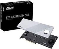 华硕 Hyper M.2 X16 PCIe 4.0 X4 扩展卡支持 4 NVMe M.2