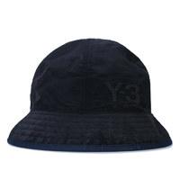 银联返现购 : Y-3 男士logo渔夫帽 黑色