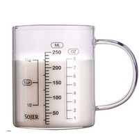 LEBRRY 玻璃刻度杯 250ml