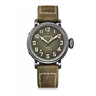 Zenith 真力时 PILOT 飞行员系列 11.1943.679/63.C800 男士机械表