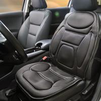 卡饰社CarSetCity 汽车加热按摩坐垫 多功能按摩保暖加热座垫 12V通用型坐垫