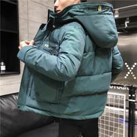 ZIMANYU紫曼羽  潮流棉袄男士 119墨绿色 L