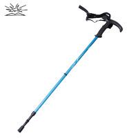BIGPACK派格戶外登山杖2節伸縮超輕防滑頭便攜徒步多功能手杖