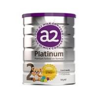 a2 艾尔 白金系列 幼儿配方奶粉 2段 900g *5件