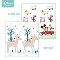 迪士尼(Disney)爬行垫加厚宝宝折叠爬爬垫XPE双面婴儿爬行地垫 XPE折叠 维尼童话 米奇量身高180*200*1