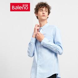 Baleno 班尼路 88734001J 男士牛津纺衬衫