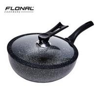 考拉海购黑卡会员 : FLONAL 白金火山岩系列 不粘炒锅 28cm