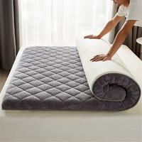 Miiow 猫人 羊羔绒可折叠床垫 90*190cm