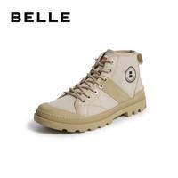 BeLLE 百丽 6UC01CD9B 男士马丁靴