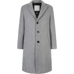 GXG男装 冬季商场同款韩版灰色羊毛长款大衣男#GA126620G *2件